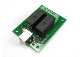 USB-RLY02 - 2 Channel Relay Module with USB Interface