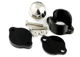 Metal ball caster 0.5 inch kit