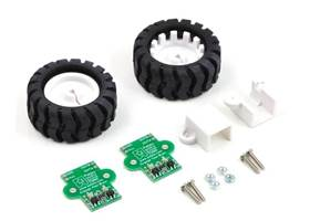 Pololu 42x19mm wheel and encoder set
