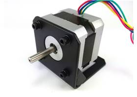 Matching stepper motor bracket