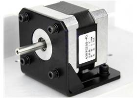 Stepper motor bracket for 42 series - mounted