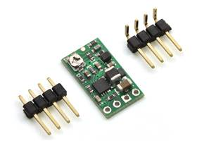 Pololu step-up/step-down voltage regulator S8V3A with included hardware