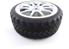 Sports Wheels 65mm - Quality rubber tyre