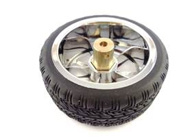 Sports Wheels 65mm - Hub attached
