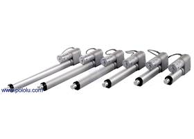 Concentric LD series linear actuators