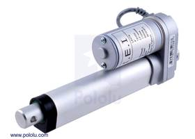"""Concentric linear actuator with 4"""" stroke (LACT4)"""