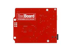 Arduino Red Board by SparkFun - Bottom