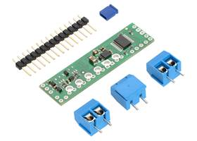 Pololu A4990 Dual Motor Driver Shield for Arduino with included hardware
