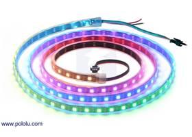 Addressable RGB 120-LED Strip, 5V, 2m (WS2812B)