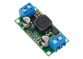 Pololu fixed step-up/step-down voltage regulator S18V20Fx, assembled with included terminal blocks