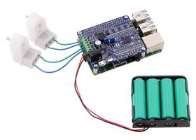 Driving motors with an A-Star 32U4 Robot Controller LV with Raspberry Pi Bridge on a Raspberry Pi Model B+ or Pi 2 Model B