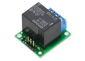 Pololu basic SPDT relay carrier with 12 VDC relay rear