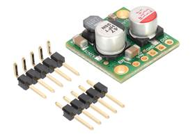 Pololu 2.5A Step-Down Voltage Regulator D24V25Fx with included hardware