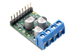 Pololu G2 High-Power Motor Driver 18v25 or 24v21 assembled with headers and terminal blocks
