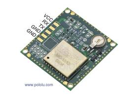 LS20031 GPS receiver module bottom view