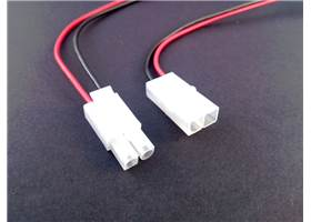 Tamiya connector pair with cables