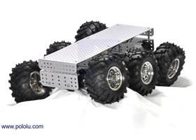 Dagu Wild Thumper 6WD all-terrain chassis, silver