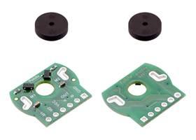 Magnetic Encoder Pair Kit for Mini Plastic Gearmotors, 12 CPR, 2.7-18V.