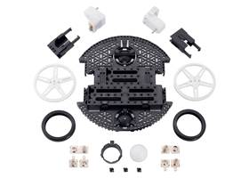 Contents of the Romi Chassis Kit – Black.