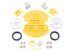 Contents of the Romi Chassis Kit – Yellow.