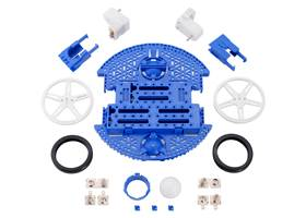 Contents of the Romi Chassis Kit – Blue.