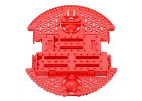 Romi Chassis Base Plate – Red.