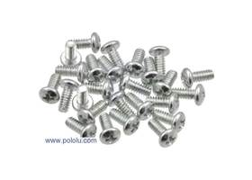 Machine Screw M3 5mm Length, Phillips (25-pack)