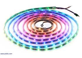 Addressable RGB 150-LED Strip, 5V, 5m.