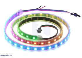 Addressable RGB 60-LED Strip, 5V, 1m.
