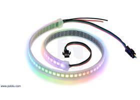 Addressable High-Density RGB 72-LED Strip, 5V, 0.5m.