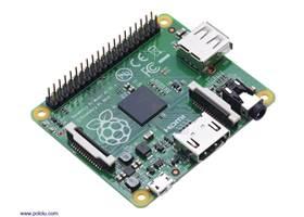 Raspberry Pi Model A+.