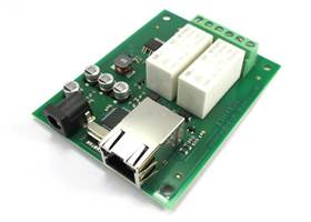 ETH-RLY02 - 16Amp, 2 Channel Relay Module