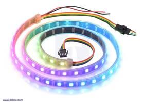 Addressable RGB 60-LED Strip, 5V, 1m (APA102C or SK9822).