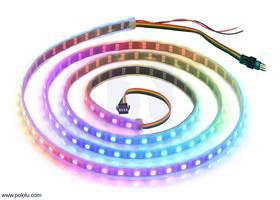Addressable RGB 120-LED Strip, 5V, 2m (APA102C or SK9822).