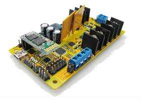 TRex robot controller with bluetooth module fitted