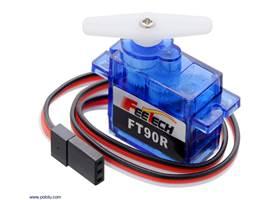 FEETECH FT90R Digital Micro Continuous Rotation Servo.
