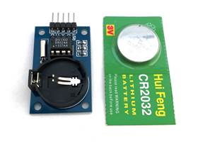 Real Time Clock Module DS1302 - comes with battery