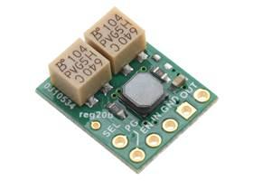2.5-9V Fine-Adjust Step-Up/Step-Down Voltage Regulator w/ Adjustable Low-Voltage Cutoff S9V11MACMA (silkscreen side).