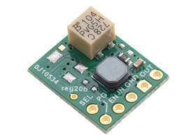 2.5-9V Fine-Adjust Step-Up/Step-Down Voltage Regulator w/ Adjustable Low-Voltage Cutoff S9V11MA (silkscreen side).