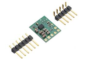 3.3V Step-Up/Step-Down Voltage Regulator S9V11F3S5 with included optional header pins.