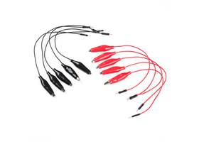 Alligator Clip with Pigtail (10 Pack)
