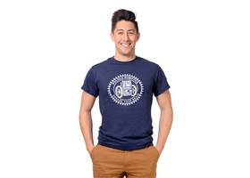 Navy blue Balboa T-Shirt.