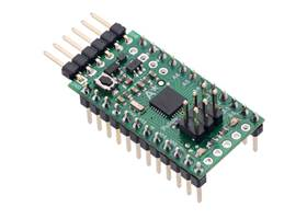 A-Star 328PB Micro with included header pins soldered for breadboard use.