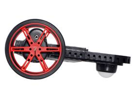 Balboa Chassis with Stability Conversion Kit and 80x10mm Pololu Wheels. (1)