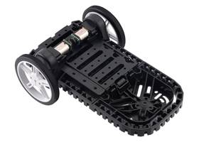 Balboa Chassis with Stability Conversion Kit and 60x8mm Pololu Wheels.