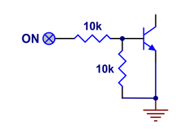 ON input structure of Pushbutton Power Switch with Reverse Voltage Protection