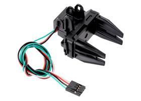 Fully assembled Micro Gripper with Position Feedback Servo.