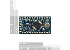 Arduino Pro Mini Top View