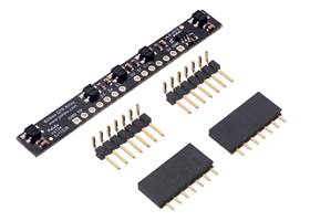 5-Channel Reflectance Sensor Array for Balboa 32U4 Balancing Robot with included hardware.