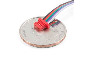 Cable - 5 Pin 1mm Pitch - Breadboard Jumper (2)